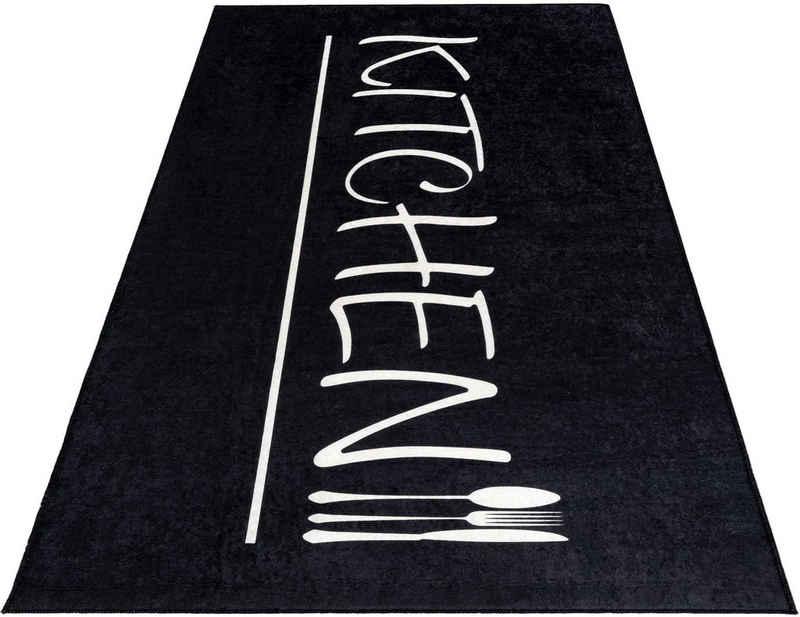 Küchenläufer »Kitchen 3040«, Sehrazat, rechteckig, Höhe 5 mm, waschbarer Küchenläufer