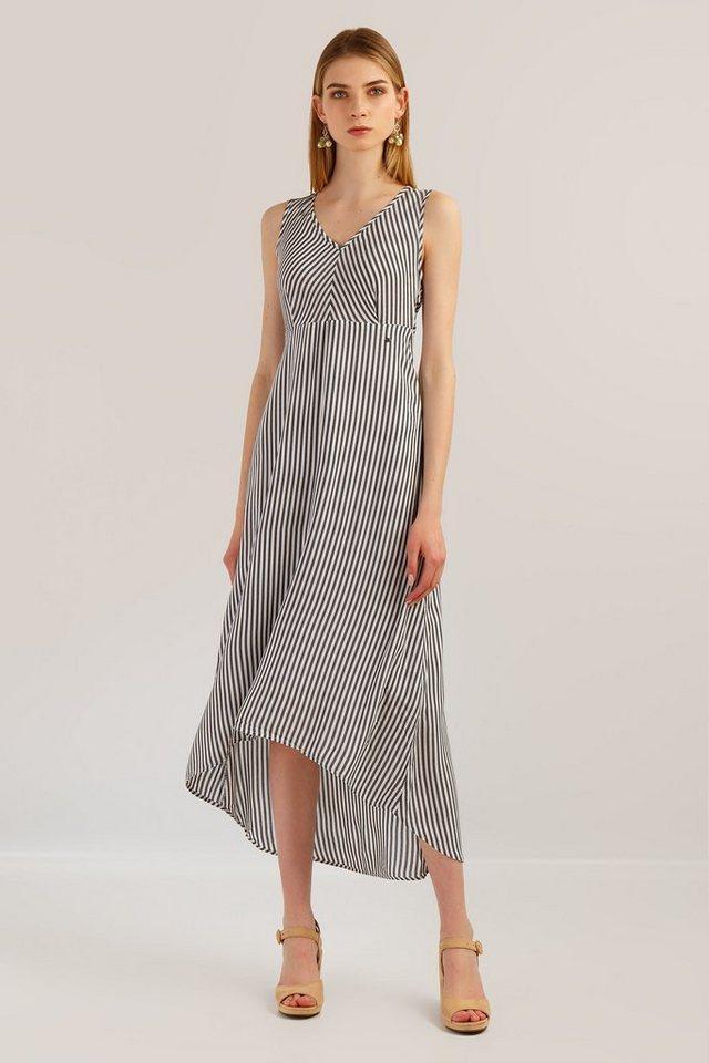 finn flare -  Jerseykleid mit asymmetrischer Form