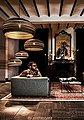 think paper Hängeleuchte »Dandy 440«, große Papierlampe, Papierleuchte, Deckenlmape aus Papier, Pappe, Bild 6