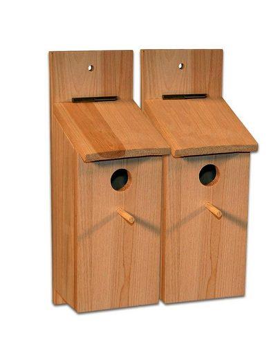 BigDean Nistkasten »Bausatz Vogelhaus Vogelhäuschen Nisthaus Meisenhaus Kleinvögel Meisenkasten zum selbst bauen«
