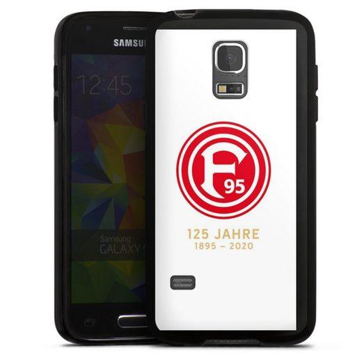 DeinDesign Handyhülle »125 Jahre Fortuna Weiss« Samsung Galaxy S5 mini, Hülle Bundesliga Fortuna Düsseldorf Fußball