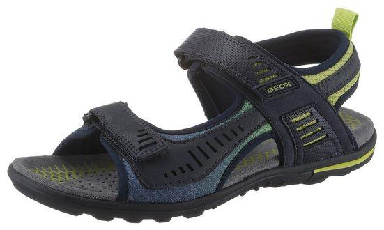 Geox »TEVERE« Sandale mit praktischen Klettverschlüssen