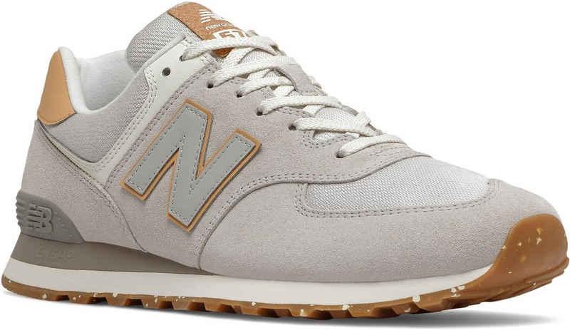 "New Balance »ML574 ""Sustainability Pack""« Sneaker mit kontrastfarbenen Details"