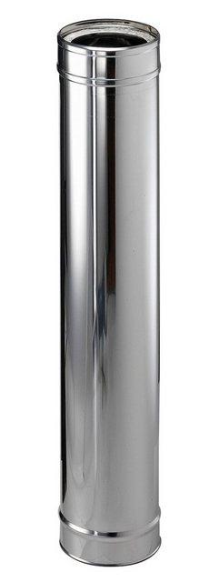 Zitec Edelstahlschornstein ß 150mm, silberfarben