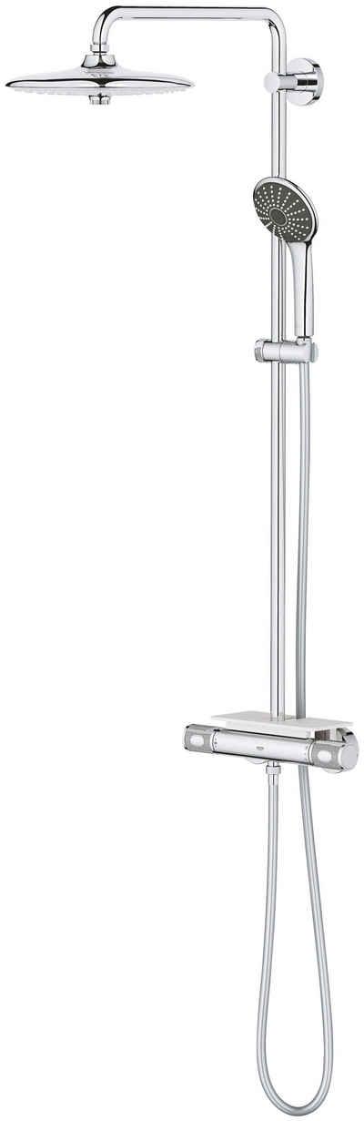 Grohe Duschsystem »Vitalio System 260«, Höhe 111,6 cm, 4 Strahlart(en), Set, mit Thermostatbatterie für die Wandmontage