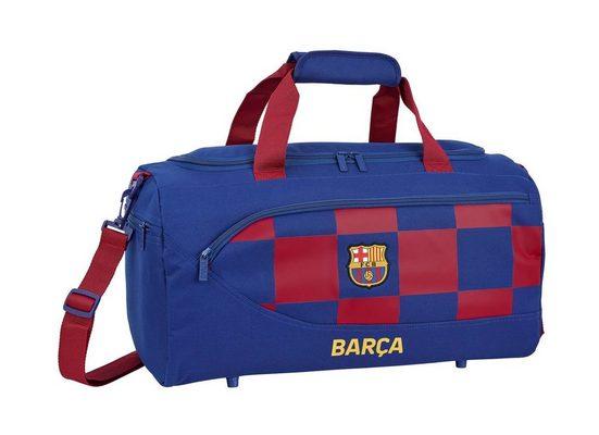 FC Barcelona Sporttasche »FC Barcelona - XL Sporttasche, 50x25x25 cm« (Reißverschluss, Jungen), Geringes-Gewicht