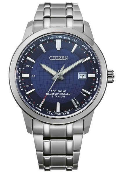 Citizen Solaruhr »Eco-Drive -Armbanduhr für Titan Blau«