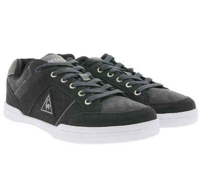 Le Coq Sportif »Le Coq Sportif Sneaker klassische Damen Schnür-Schuhe Guerret Trois Low SR Freizeit-Schuhe Dunkelgrau« Sneaker