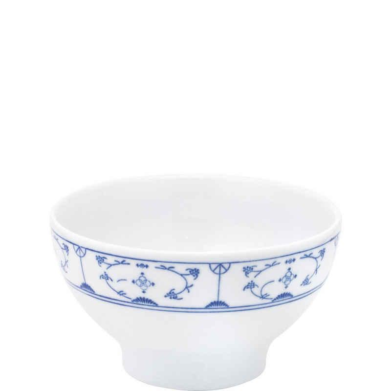 Kahla Müslischüssel »Blau Saks 14 cm«, Porzellan, von Hand dekoriert
