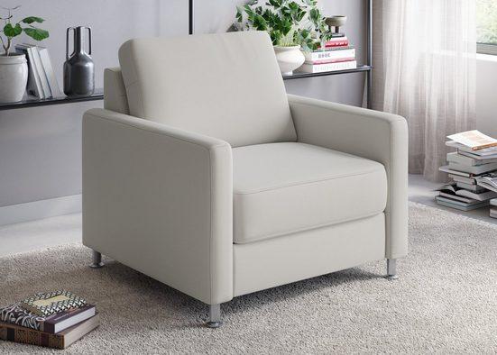 sit&more Sessel »Corleone«, mit komfortabler Federkernpolsterung