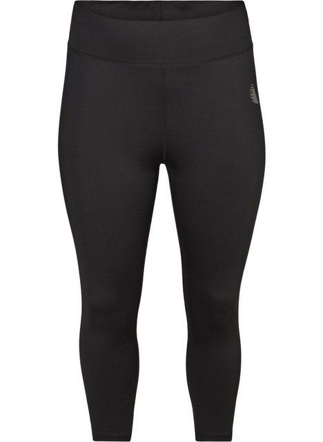 Hosen - Active by ZIZZI Trainingstights Große Größen Damen 3 4 Stretch Einfarbig ›  - Onlineshop OTTO