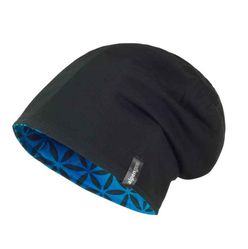 alpengoa Beanie »Mütze aus Biobaumwolle« Wendemütze