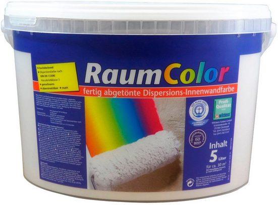 Wilckens Farben Wand- und Deckenfarbe »Raumcolor«, Spritzarm