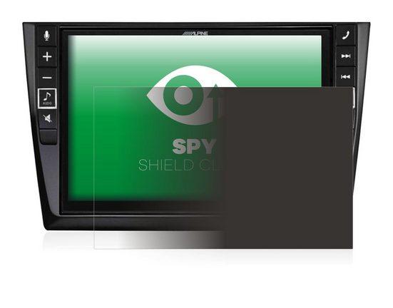 upscreen Schutzfolie »für Alpine I902D-G6«, Folie Schutzfolie Sichtschutz klar anti-spy