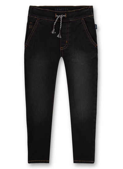 Sanetta 5-Pocket-Jeans »Jungen-Jog Denim Dunkelgrau anthrazit« (1-tlg)