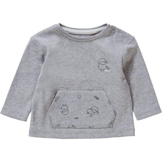 s.Oliver T-Shirt langarm - Langarmshirts - männlich