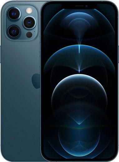 Apple iPhone 12 Pro Max - 128GB Smartphone (17 cm/6,7 Zoll, 128 GB Speicherplatz, 12 MP Kamera, ohne Strom Adapter und Kopfhörer, kompatibel mit AirPods, AirPods Pro, Earpods Kopfhörer)