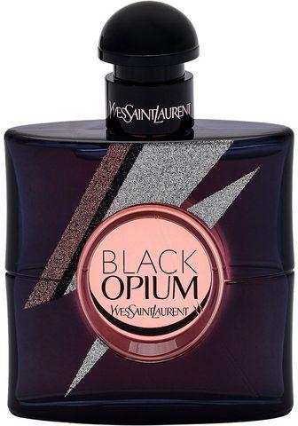 YVES SAINT LAURENT Eau de Parfum »Black Opium Storm Illus...
