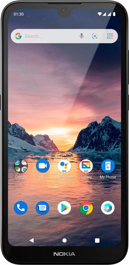 Nokia 1.3 Smartphone (14,5 cm/5,71 Zoll, 16 GB Speicherplatz, 8 MP Kamera)