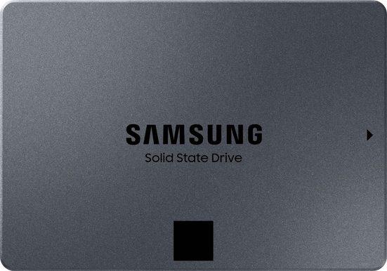 """Samsung »870 QVO SSD 2TB« interne SSD 2,5"""" (2 TB) 560 MB/S Lesegeschwindigkeit, 530 MB/S Schreibgeschwindigkeit)"""