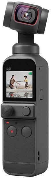 """dji »Pocket 2« Gimbal (Vlog, 3-Achsen Kamerastabilisierung 4K, 64 MP hochauflösendes Foto, 1/1.7"""" CMOS, Lärmreduzierung, Zeitraffer, Slow Motion, 8x Zoom, Livestreaming)"""