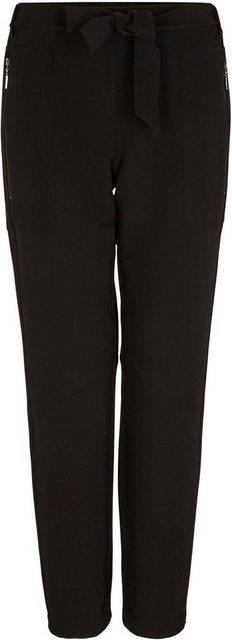 Hosen - Comma Loungepants mit Stoffgürtel zum Binden in modischer Ankle Länge ›  - Onlineshop OTTO