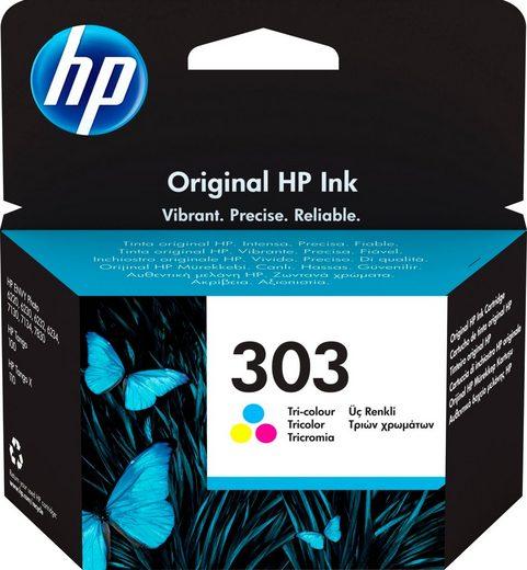 HP »hp 303 Original Cyan, Magenta, Gelb« Tintenpatrone (1-tlg)