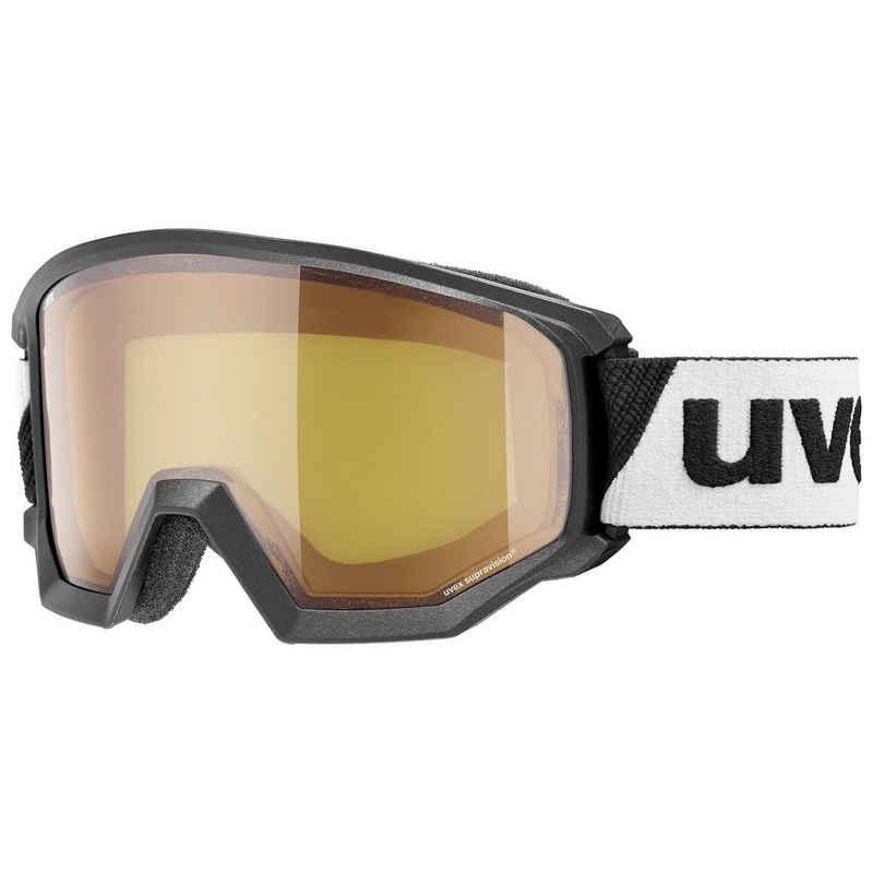 Uvex Skibrille »athletic LGL«, Anti-Beschlag,für Brillenträger geeignet,weites Blickfeld