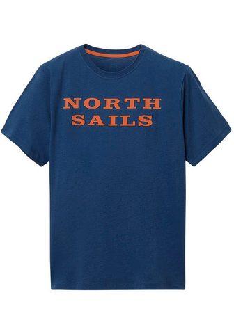 North Sails Marškinėliai su Logo-Print