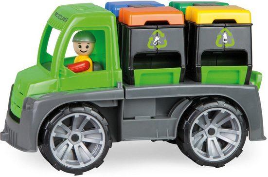 Lena® Spielzeug-Transporter »TRUXX Recycling Truck«, inkl. 1 Spielfigur; Made in Europe