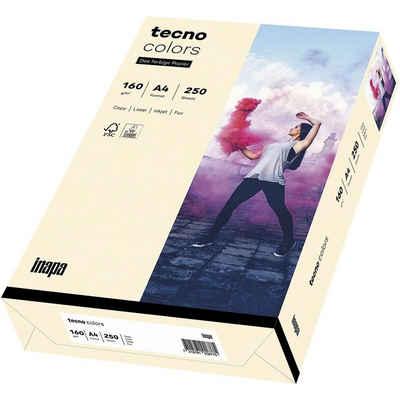 Inapa tecno Drucker- und Kopierpapier »Rainbow«, Pastellfarben, Format DIN A4, 160 g/m²