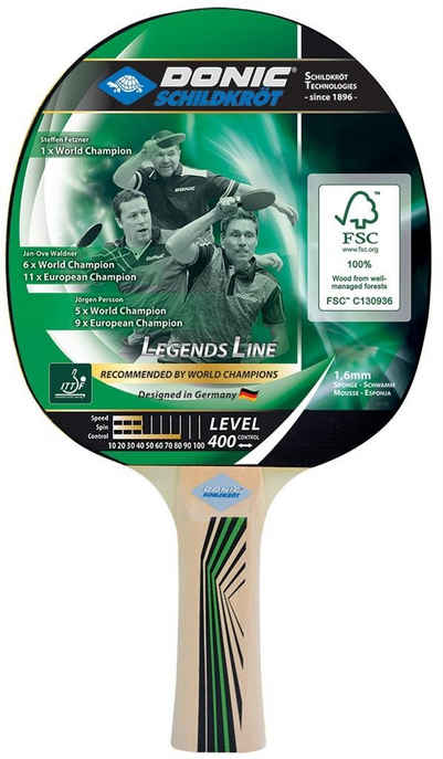 Donic-Schildkröt Tischtennisschläger »Legends 400«