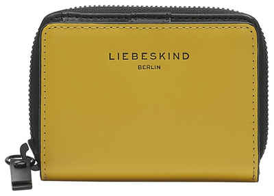 Liebeskind Berlin Geldbörse »Paper Bag Conny«, mit RFID-Schutz und kontrastfarbigen Details