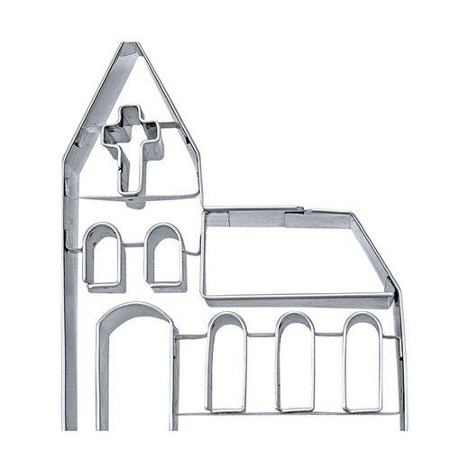 STÄDTER Ausstechform »Ausstechform Kirche Taufe«, Edelstahl