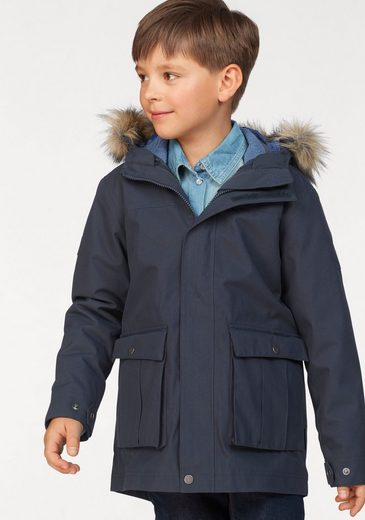 Jack Wolfskin 3-in-1-Funktionsparka »ELK ISLAND 3IN1« (2-St) Inkl. Fleecejacke