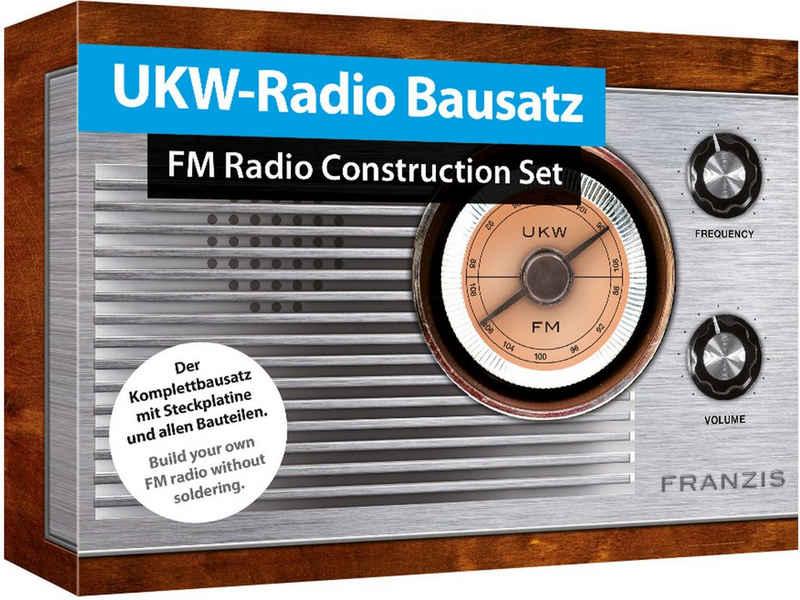 Franzis Experimentierkasten »UKW-Radio Bausatz zum Stecken«