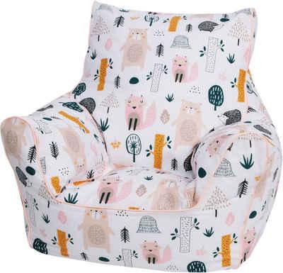 Knorrtoys® Sitzsack »Wildlife«, für Kinder; Made in Europe
