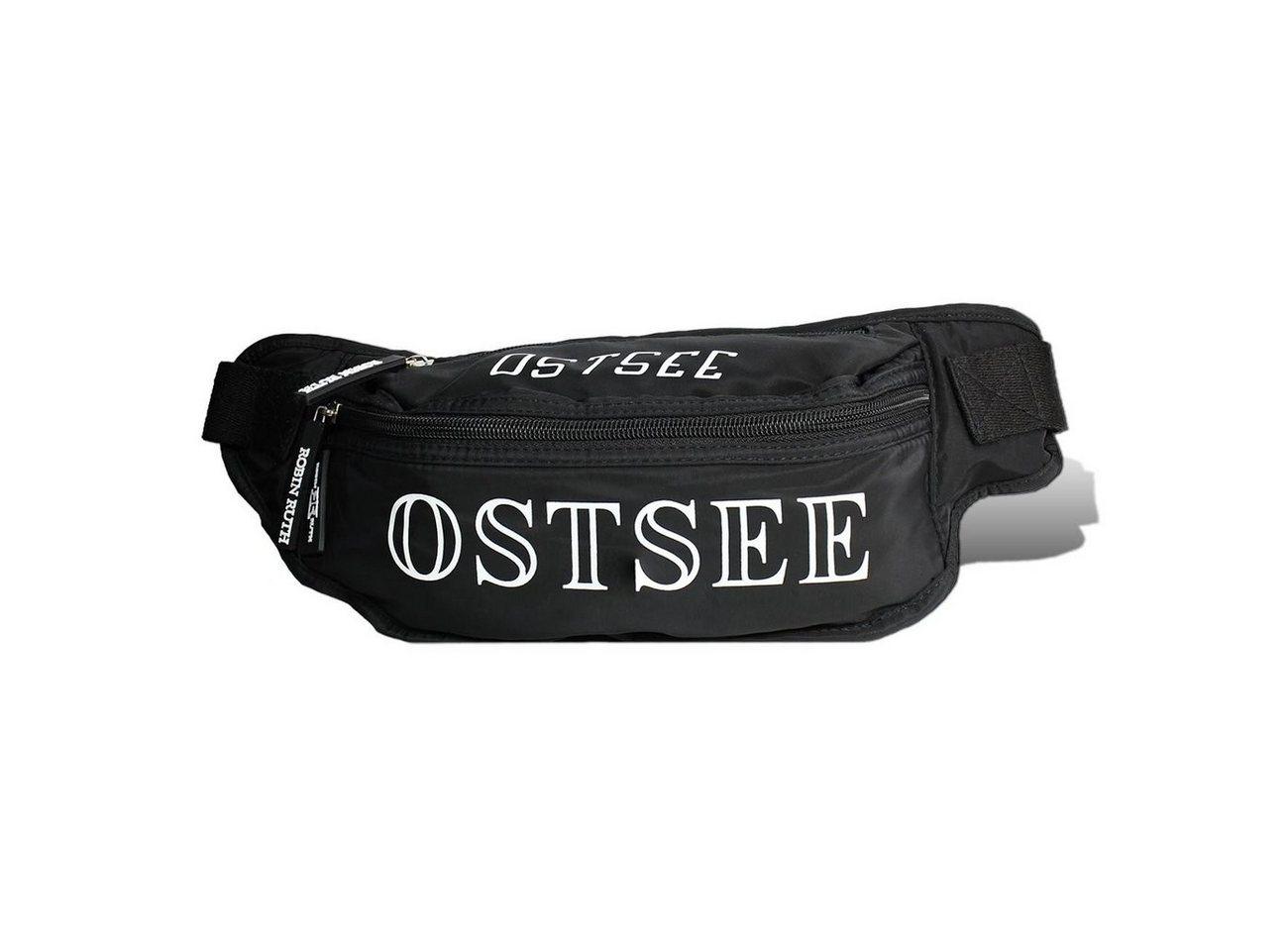 robin ruth -  Gürteltasche »OTG5100S  Hüfttasche Ostsee schwarz« (Gürteltasche), Gürteltasche Polyester, schwarz ca. 26cm x ca. 15cm