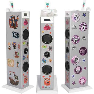 BigBen Musikanlage Sound Tower TW5 Rock Stand-Lautsprecher