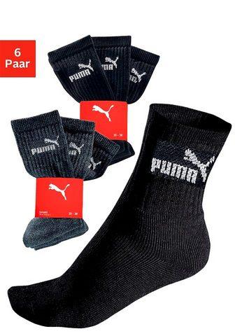 PUMA Kojinės sportui (6-Paar) su Klasikinio...
