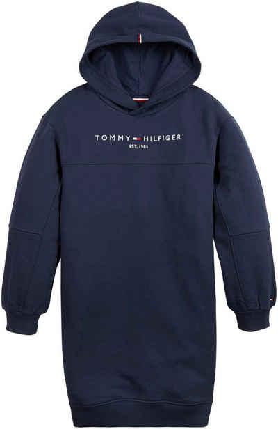 Tommy Hilfiger Sweatkleid »ESSENTIAL HOODIE DRESS L« mit Teilungsnähten