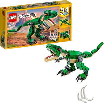 LEGO® Konstruktionsspielsteine »Dinosaurier (31058), LEGO® Creator 3in1«, (174 St)