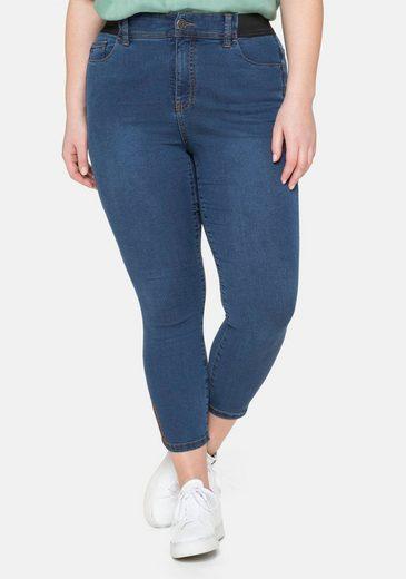 Sheego Stretch-Jeans in 7/8-Länge, »Ultimate Stretch«, wächst bis 3 Gr. mit