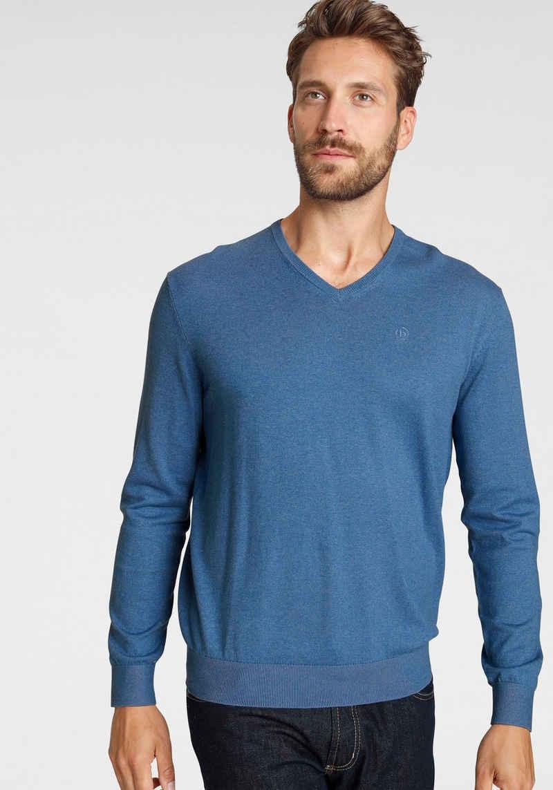 bugatti V-Ausschnitt-Pullover