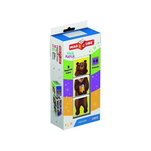 Geomag™ Magnetspielbausteine »GEOMAG Magicube Animals 3tlg.«
