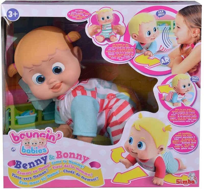 SIMBA Babypuppe »Bouncin Babie´s Bonny kommt zu Mama«