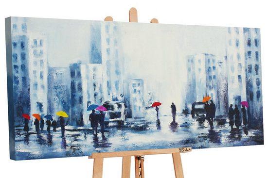 YS-Art Gemälde »Angenehmes Treffen 2 106«