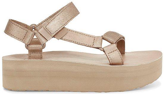 Teva »Flatform Universal Leather« Sandale