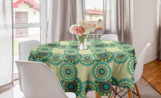 Abakuhaus Tischdecke »Kreis Tischdecke Abdeckung für Esszimmer Küche Dekoration«, Mandala marokkanische Motive