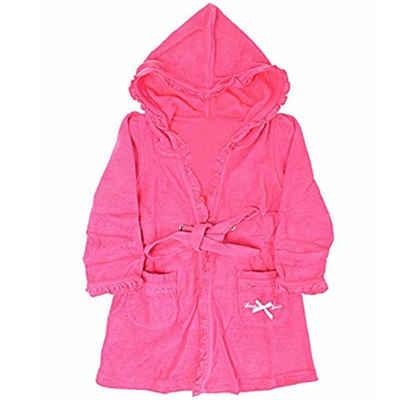 Kinderbademantel »Louis & Louisa Kinder-Bademantel pink«, Louis & Louisa